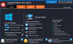 TweakPower is a tweaking freeware that lets you customize, optimize, clean up and tweak Windows 10/8/7 PC. Download it free & change your computing experience.