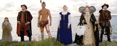 Learn about The Lost Colony during your OBX vacation! Very interesting!!