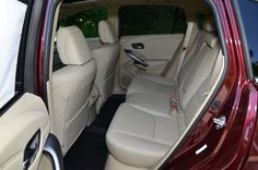 2013 #Acura #RDX in Basque Red Pearl II over Parchment Leather -at @MungenastAcura in #stlouis