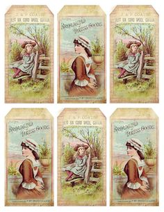 And Spring arose on the garden fair, Like the Spirit of Love felt everywhere; And each flower and herb on Earth& dark breast rose from t. Vintage Tags, Vintage Labels, Vintage Ephemera, Vintage Paper, Vintage Crafts, Vintage Stuff, Printable Labels, Printable Paper, Free Printables