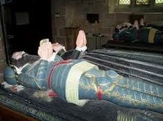 Sancha De Ayala Blount (1360 - 1418) - Find A Grave Photos My 17th great grandmother. She married Sir Walter Blount. She is buried at St Mary Magdeleine Church in Nottinghamshire England. This is the effigy for her and my 17th great-grandfather Walter Blount.