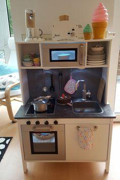 ikea duktig makeover ikea hacks pinterest ikea hack ikea kids kitchen and kitchens. Black Bedroom Furniture Sets. Home Design Ideas
