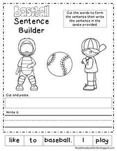writing activities for preschoolers about winter