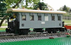 1920s German museum train - LEGO Train Tech - Eurobricks Forums