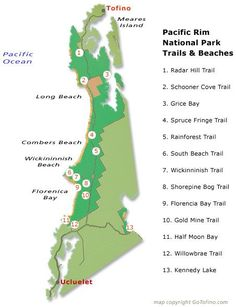 Ucluelet Seashores and Mountaineering Trails. Discover well-known and secluded surf seashores and mountaineering trails by means of previous-progress rainforests in Ucluelet and Pacific Rim Nationwide Park. Take a look at more by visiting the photo Park Trails, Hiking Trails, Sunshine Coast, British Columbia, Columbia Travel, Tofino Bc, Voyage Canada, Islands In The Pacific, Pacific Coast