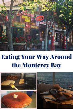 SAVE YOUR MONEY TO GO EAT Where to eat in Monterey, California. Seafood to Mexican to Italian you can find some of the most delicious food and places to eat in the Monterey Bay area, including Carmel & Pacific Grove. Monterey California, California Dreamin', Northern California, Pacific Grove California, Pacific Coast, Danville California, California Wedding, San Diego, San Francisco