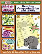 4th Grade Basic Skills: Reading Comprehension and Skills (Enhanced eBook). Download it at Examville.com - The Education Marketplace. #scholastic @Karen Echols #teachers #teaching #elementaryschools #teachercreated #ebooks #books #education #classrooms #commoncore #examville