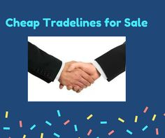Cheap Tradelines for Sale