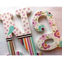 Letras En Mdf Nombre Infantil Nacimiento Candy Bar - Bs. 1.000,00 en MercadoLibre