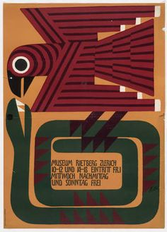 Museum Rietberg Zurich. (1955) | Ernst Keller (Swiss, 1891–1968)