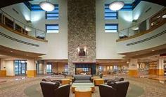 Lobby, Central Ohio Technical College/The Ohio State University by The Collaborative Inc.