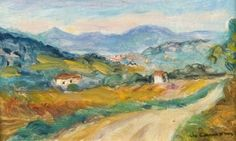Charles Camoin - Petit paysage du midi
