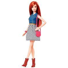 Barbie Fashionista ruiva
