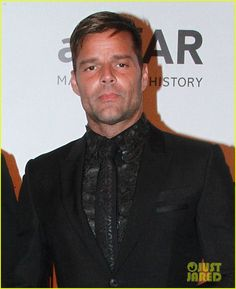 Ricky Martin Makes Red Carpet Debut with Boyfriend Jwan Yosef