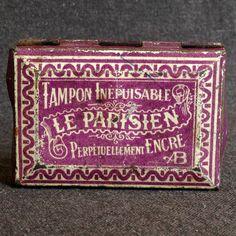 Vintage French inkpad