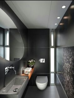 Houzz Modern bath