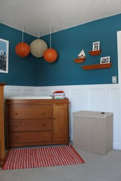 Blue Orange Nursery Sophisticated Project Oh The Places