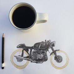 Motorcycle Drawings3