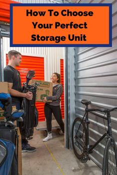 "A storage unit isn't ""one size fits all."" That's why it's important to know how to choose your perfect storage unit. And it's easier than you think. Storage Solutions, Storage Ideas, Self Storage, Your Perfect, One Size Fits All, How To Apply, The Unit, Learning, Fitness"
