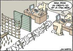#Humor: las dificultades para conseguir #crédito que tienen los #autónomos