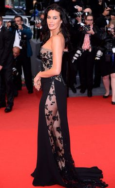 Megan Gale at Cannes Film Festival