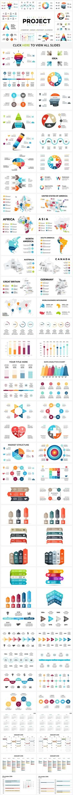 Bundle of 1400 Fully Customizable Infographic Templates - only $24! - MightyDeals