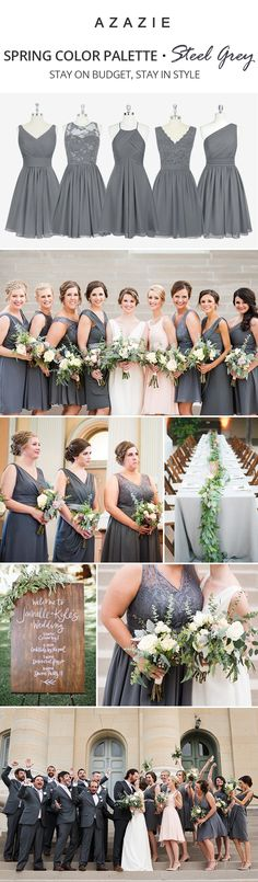 Azazie is the online destination for special occasion dresses. Our online boutique connects bridesmaids and brides with over 400 on-trend styles, where each is available in 50+ colors. | Photos courtesy of ashleyfisherphotography.com