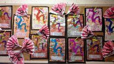 Les poupées chinoises sont faites avec des boîtes de chips tuiles avec une feuille A4 de couleur (selon les groupes des...