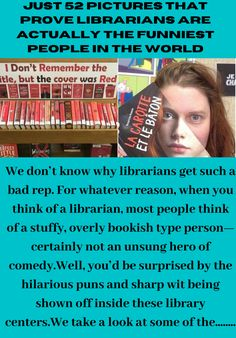 Just 52 Pictures That Prove Librarians are Actually the Fun. Unsung Hero, Denzel Washington, Beautiful Little Girls, Lucille Ball, Short Article, True Crime, News Articles, Funny Signs, Funny People