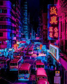 Cyberpunk Aesthetic, Cyberpunk City, Neon Aesthetic, Night Aesthetic, City Lights At Night, Night City, Lit Wallpaper, Scenery Wallpaper, Tokyo Streets