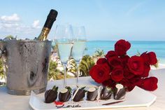 Experience an unparalleled level of romance this  Valentine's Day at Secrets Maroma Beach Riviera Cancun.