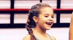 Little Kenzie; miss those days when she was little....