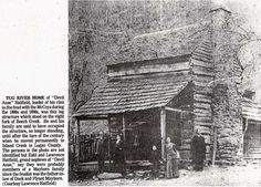 hatfield and mccoy family tree | Anse Hatifield's Tug River home (this must be the one they were ...