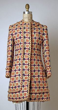 Bill Blass for Maurice Rentner Suit - American 1968 Wool