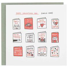happy valentine's day card © Gemma Correll