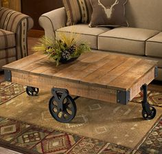 Image from http://www.wildwings.com/DirectionsWEB/client/images/Rustic_Cart_Coffee_Table_5243091502.jpg.