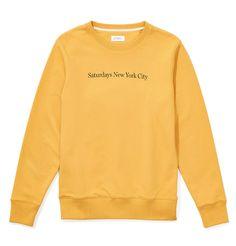 Saturdays NYC Bowery Sweatshirt - Dusty Amber