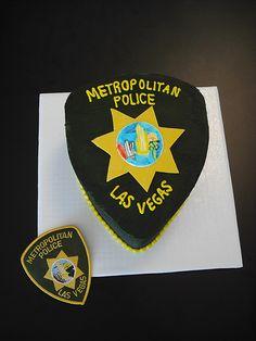 Police Patch cake