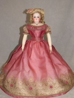 "Gorgeous 15"" Blampoix French Fashion Doll (item #1317514, detailed views)"
