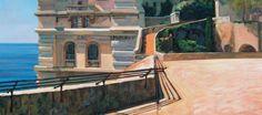 Andreas Vanpoucke - Etcher Painter Hiervan Gehou · 13 Desember 2013    ' Monaco Musée oceanographique '  Huile sur toile 1.20 m x 60 cm — by Musée Océanographique de Monaco / Oceanographic Museum of Monaco.