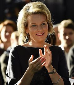 Queen Mathilde attends the presentation of the project TuVeuxTest