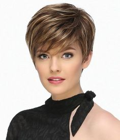 Today we have the most stylish 86 Cute Short Pixie Haircuts. We claim that you have never seen such elegant and eye-catching short hairstyles before. Pixie haircut, of course, offers a lot of options for the hair of the ladies'… Continue Reading → Short Pixie Haircuts, Short Hairstyles For Women, Easy Hairstyles, Straight Hairstyles, Haircut For Older Women, Short Wigs, Trending Hairstyles, Fine Hair, Hair Trends