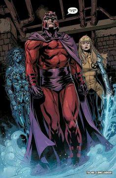 Magneto and Xmen