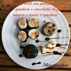 Polenta, un accenno di storia e il finto sushi di polenta bianca!