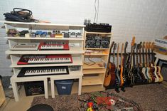 Why can't I make Ikea work for me like this guy does?????    IKEA Hackers: Basement music studio