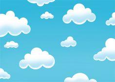 Soft Sky via MuralsYourWay.com