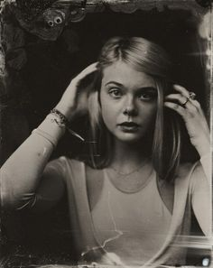 Dramatic Tintype Portraits of Contemporary Celebrities - My Modern Metropolis