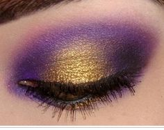 gold and purple