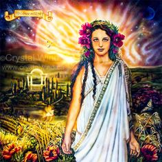 Demeter: Goddess of the Bountiful Harvest, Art - Goddesses, Muses