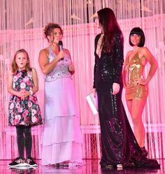 🇬🇧🇺🇸🇲🇨 Pernilla Wiberg with his daughter to receive on stage the 2016 @monacowsla, The Oscars of Sport and our Master of Ceremony, @LorenaBaricalla Salle Empire, Hôtel de Paris Monte-Carlo Lorena Baricalla Dress Suit : @genesiafashion Shoes : @duccioventurri Bottier Jewels : Marina Corazziari  Hair Style : Daniele Rao Parrucchieri Make Up : Glamor Mariage 📸 by Saverio Chiappalone - MonacoWSLA Team -  PromoArt MonteCarlo Production @montecarlosbm @visitmonaco #wsla16